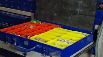 Aufbewahrungsbox für Schrauben