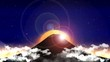 sunrise Mt.Fuji