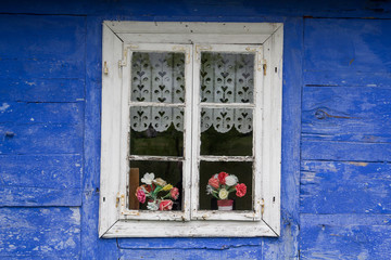 Nice traditional rural house window