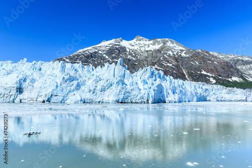 In de dag Gletsjers Margarie Glacier in Glacier Bay National Park, Alaska