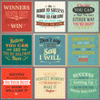 Success quotes colored set - 74202047