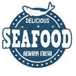 Seafood stamp