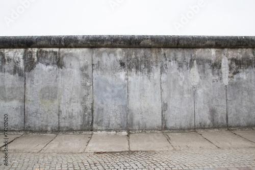 Leinwandbild Motiv Muro di Berlino nella Bernauerstraße - Berlino