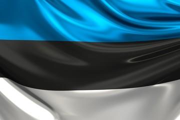 Flag of Estonia.