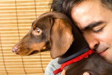 Дружба собаки и хозяина