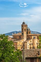 The Duomo in Urbino