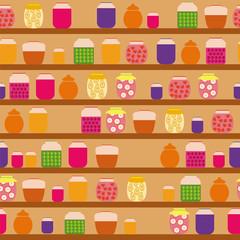 Pattern of jam