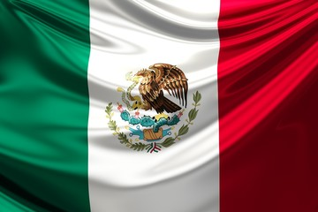 Flag of Mexico.