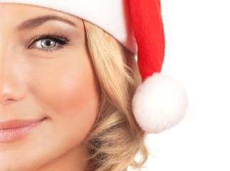 Cute Santa girl