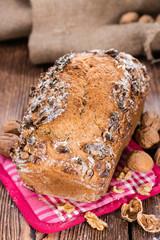 Fresh made Walnut Bread