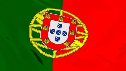 Flag of Portugal.
