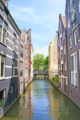 The narrow canal