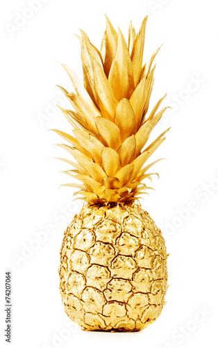 Aluminium Vruchten Gold pineapple