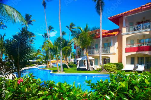 Papiers peints Attraction parc Tropical resort.