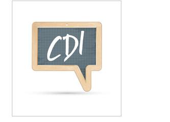 CDI - contrat à durée indéterminé