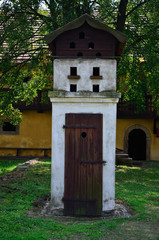 Dovecote and WC