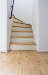 Modern stair of wood