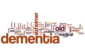 Dementia word cloud