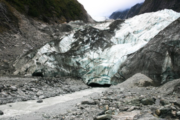 Franz Josef Glacier, West Coast of South Island, New Zealand