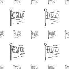 Vector background for windsock