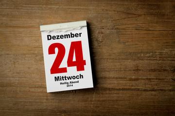 24.Dezember 2014