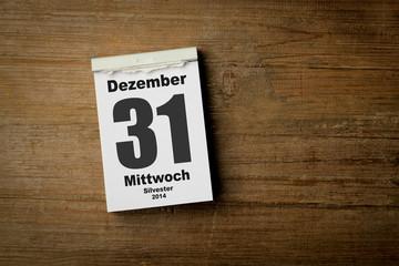 31.Dezember 2014