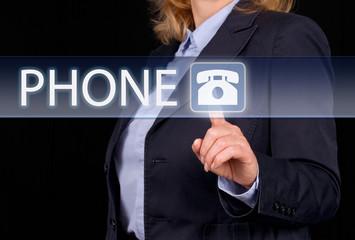 Phone - Kontakt per Telefon