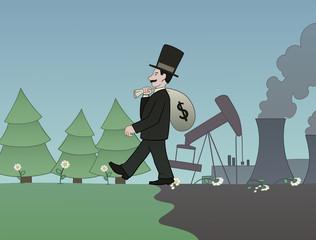Money versus nature