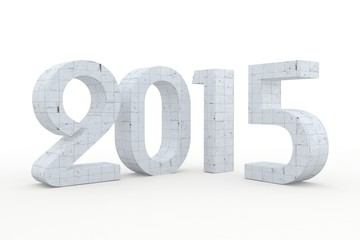 2015 3D new year