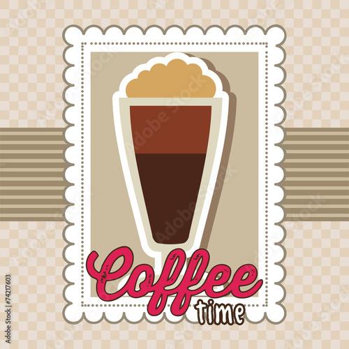 Plakat coffee design