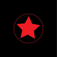 vector star sign