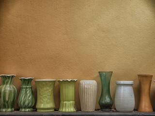 Many vases