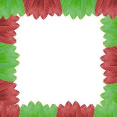 leaf green red