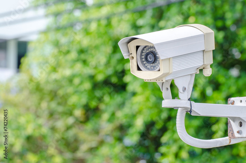 CCTV video camera security system - 74220435