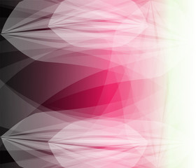 Vector abstract geometric background. Light subtle pink