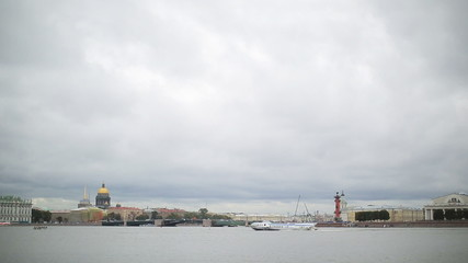 Saint Petersburg river Neva