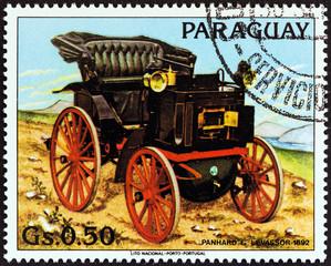 Panhard-Levassor of 1892 (Paraguay 1983)