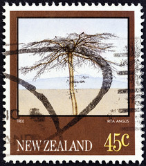 Tree by Rita Angus (New Zealand 1983)