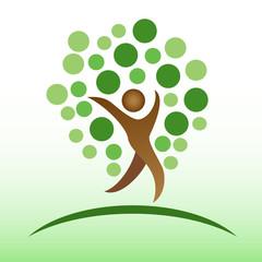 people tree icon