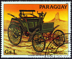 Benz Velo of 1894 (Paraguay 1983)