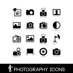 Photo icons set 6