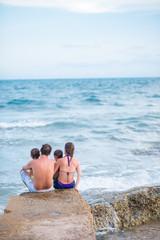 Enjoying the seascape