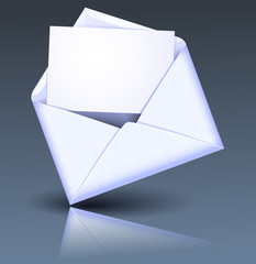 Open envelope