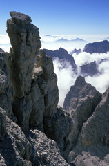 Rock tower, Brenta group, Italy