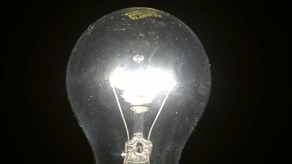 Bulb that lights slowly and then turns off
