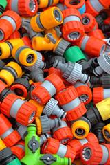 Plastic hose fittings