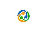 electric symbol sign vector logo