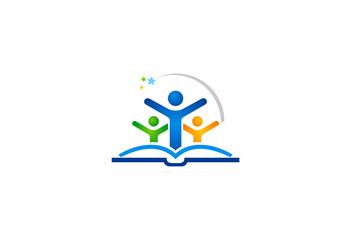 education kid success logo