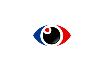 eyes optical vector logo