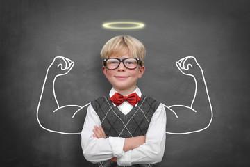 Schoolschild with Muscle / Nimbus